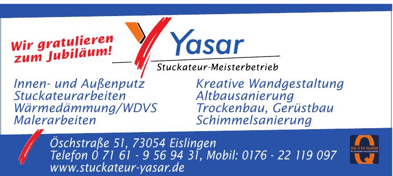 Stuckateur-Meisterbetrieb Yasar