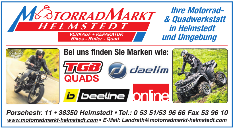 Motorradmarkt Helmstedt