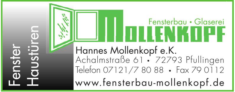 Fensterbau - Glaserei Mollenkopf e.K.