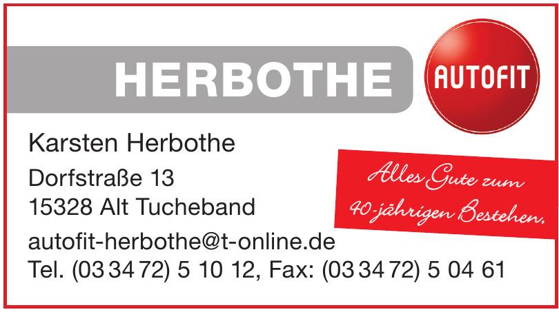 Autofit Karsten Herbothe