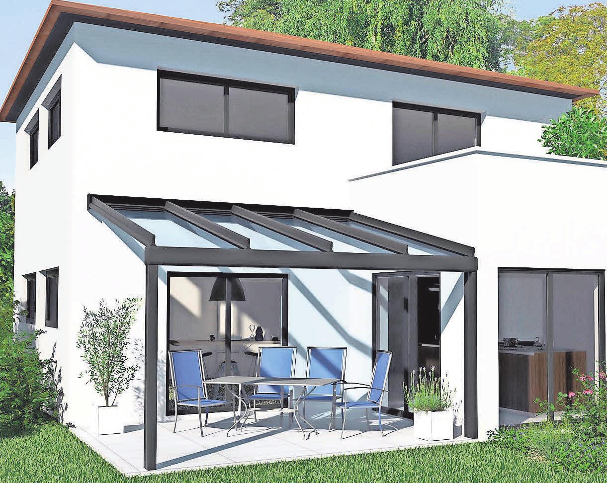 Den Kombinationsmöglichkeiten und Variationen der Terrassendächer sind keine Grenzen gesetzt.