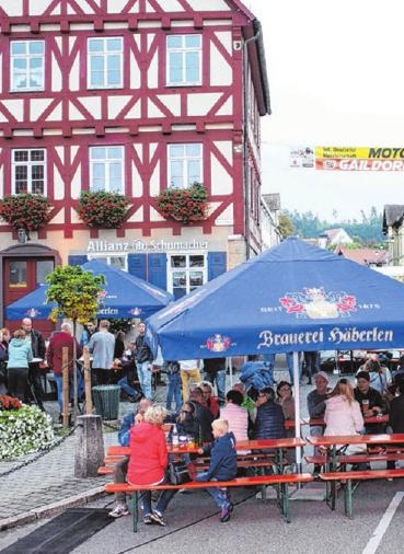 Die Late Night in Gaildorf bietet den Menschen Gelegenheit, zusammenzukommen. FOTO: ARCHIV/BRIGITTE HOFMANN