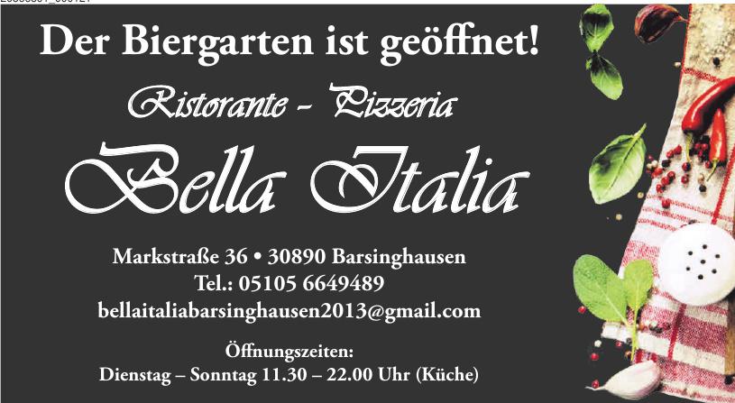 Biergarten Bella Italia