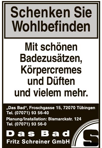 Das Bad Fritz Schreiner GmbH