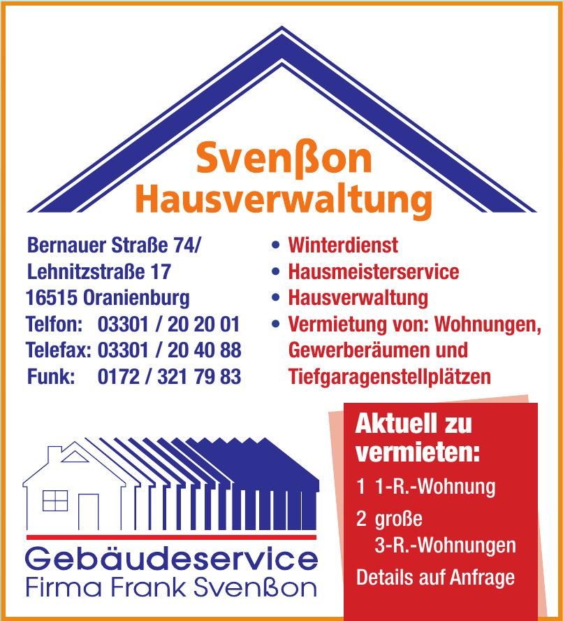 Svenßon Hausverwaltung
