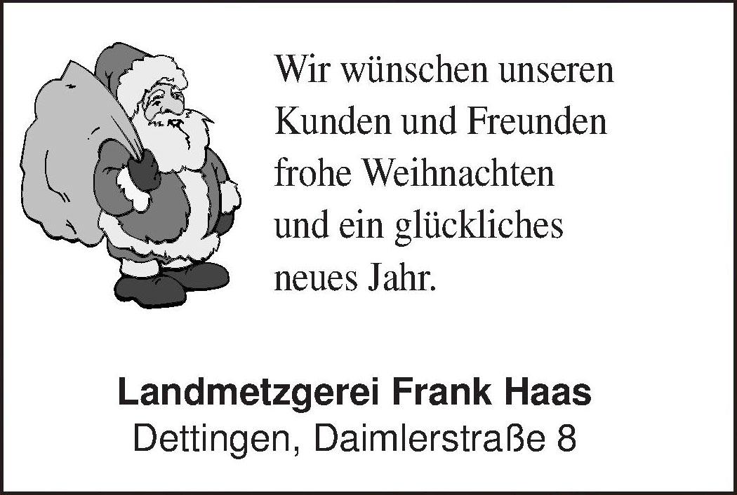 Landmetzgerei Frank Haas