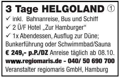 Veranstalter regiomaris GmbH