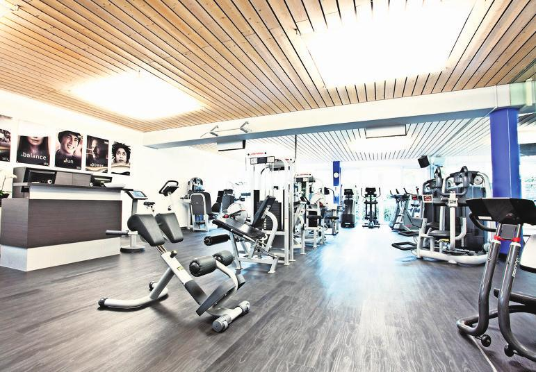 Das match center ist ausgestattet mit topmodernen Cardio- und Kraftgeräten. Foto: z