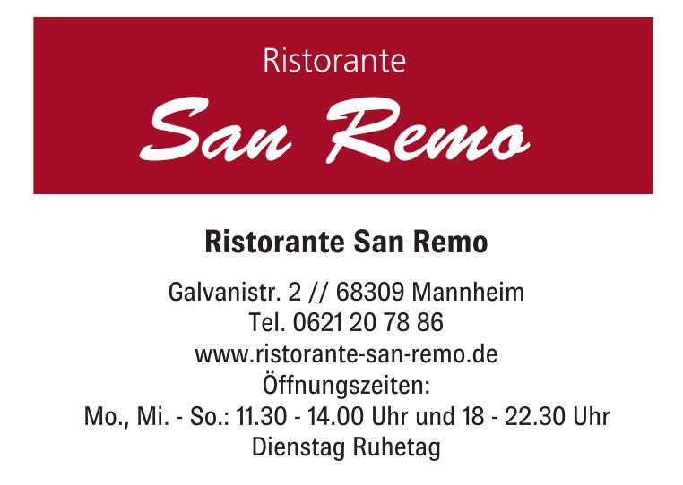 Ristorante San Remo