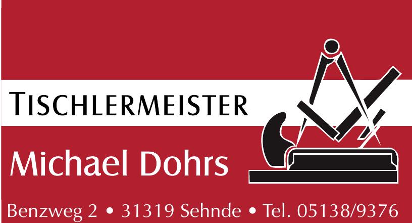 Tischlermeister Michael Dohrs