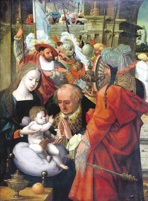 Tafelbild, altniederländischer Meister, um 1500