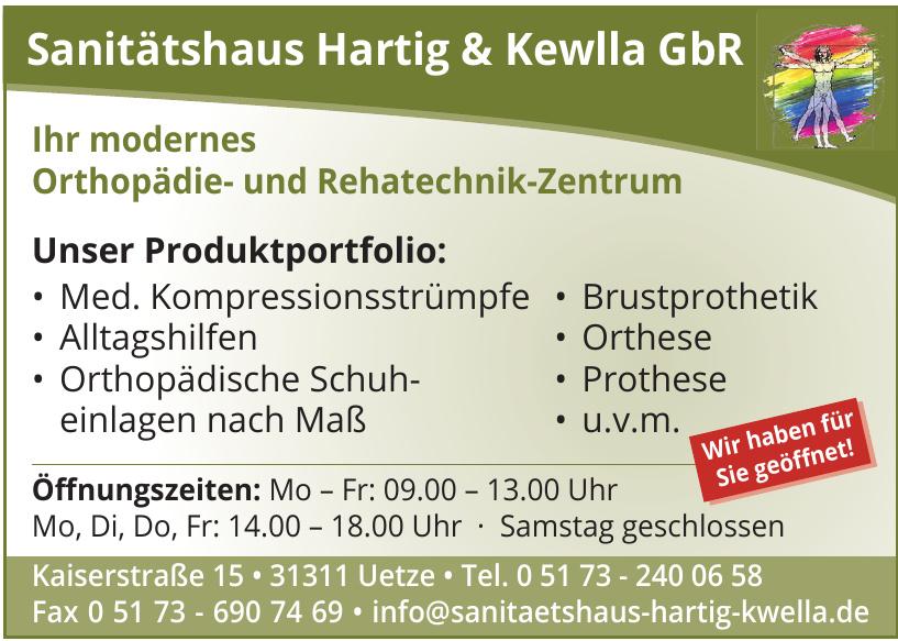 Sanitätshaus Hartig & Kewlla GbR