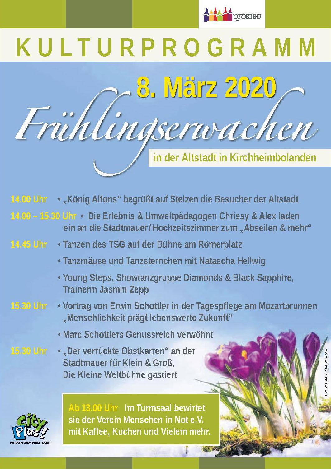 Kulturprogramm Frühlingsenwachen
