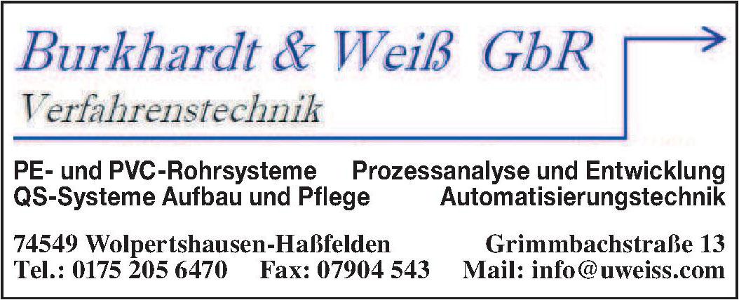 Burkhardt & Weiß GbR