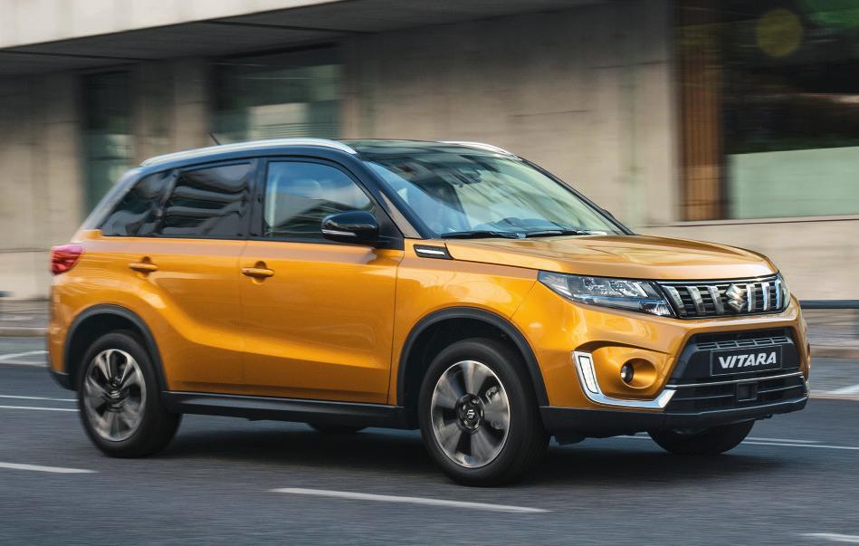 Der Suzuki Vitara. Fotos: Suzuki