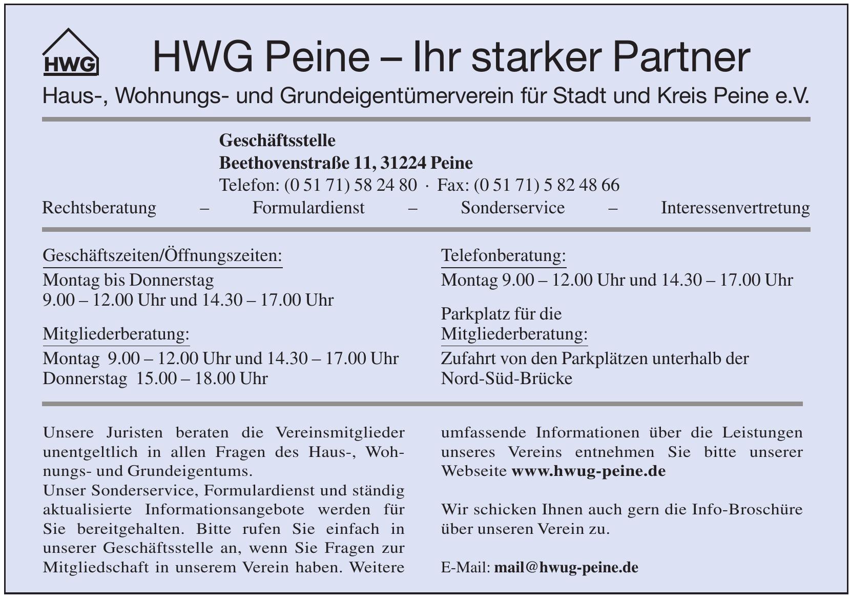 HWG Peine