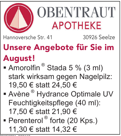 Obentraut Apotheke