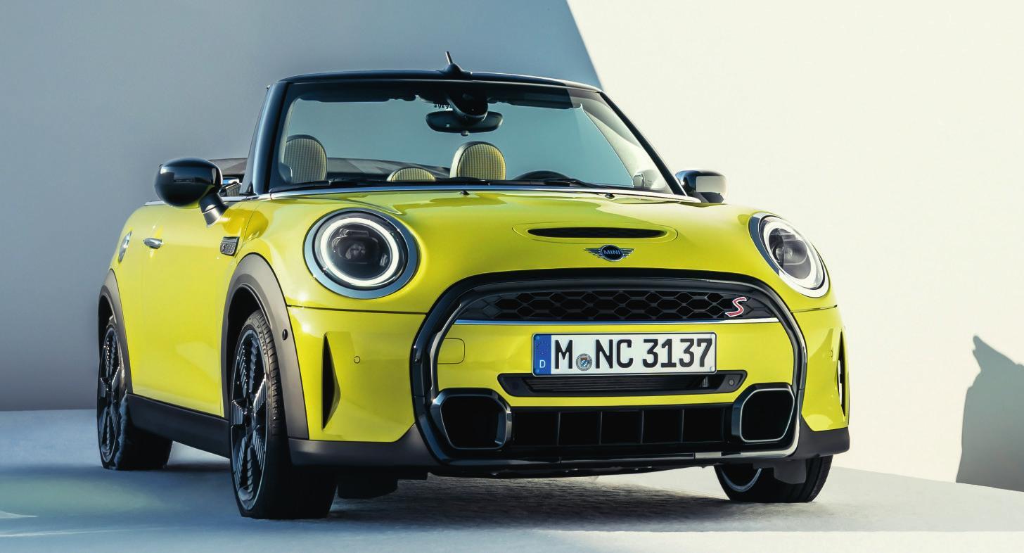 Maximale Offenbarung: Das neue MINI Cabriolet