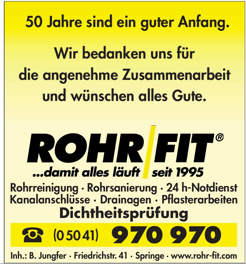 Rohr Fit