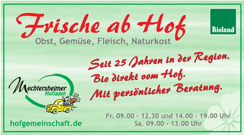 Mechtersheimer Hofladen