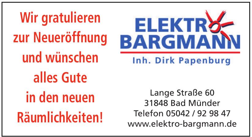Elektro Bargmann