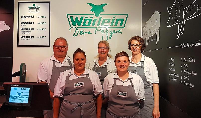 Für die langjährige Treue bedankt sich das ganze Team bei den Kunden – auf dem Bild zu sehen sind (von links) Peter Herzner, Angelova Snezhana, Daniela Hüttinger, Janina Reinhold und Kerstin Mühling.