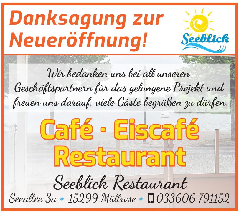 Seeblick Restaurant & Eiscafe