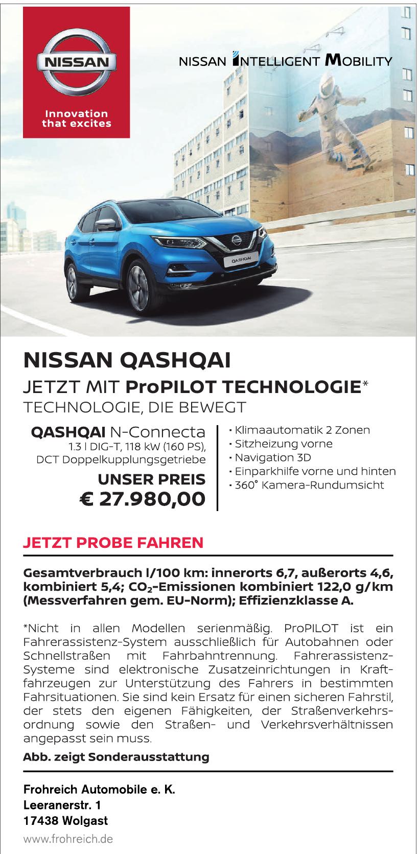 Frohreich Automobile e. K.