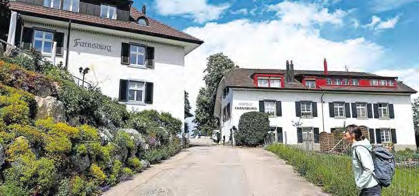 Auszeit unterhalb der Farnsburg – Hofgut Farnsburg und Landgasthof.
