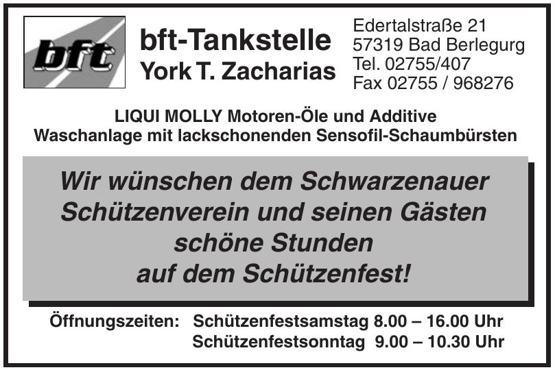 bft-Tankstelle York T. Zacharias