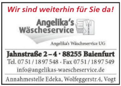 Angelikas Wäscheservice UG