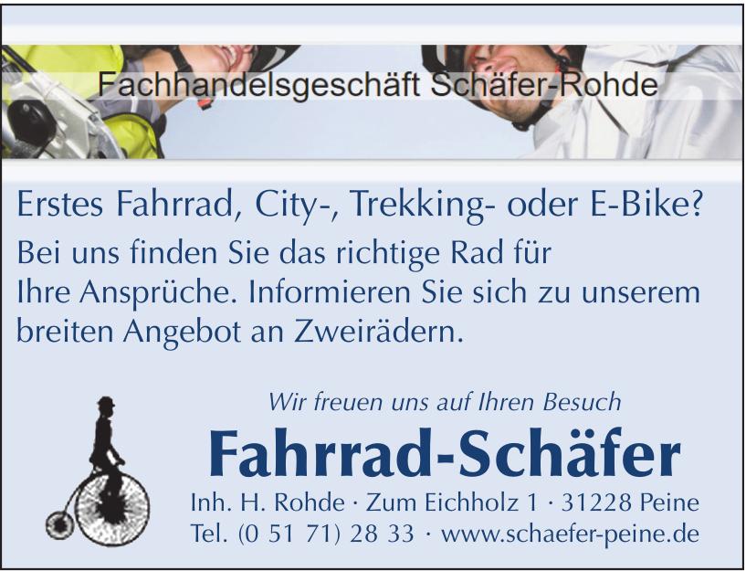 Fahrrad Schäfer