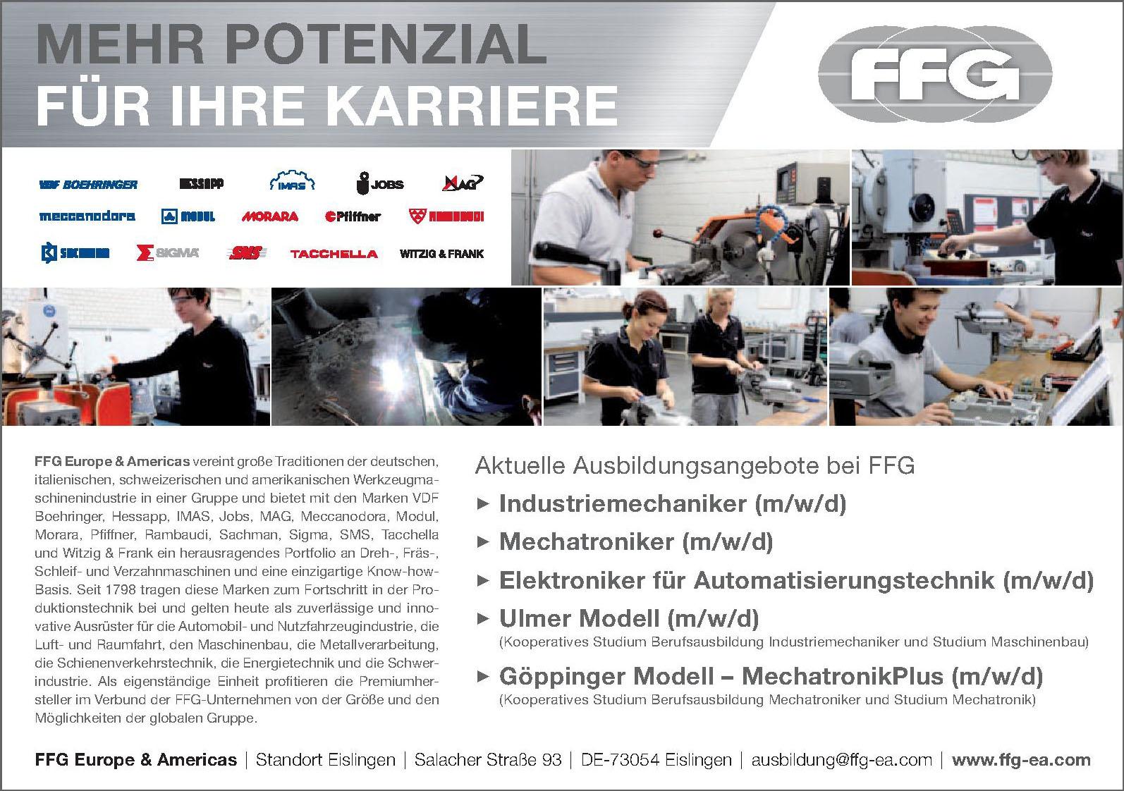 FFG Europe & Americas