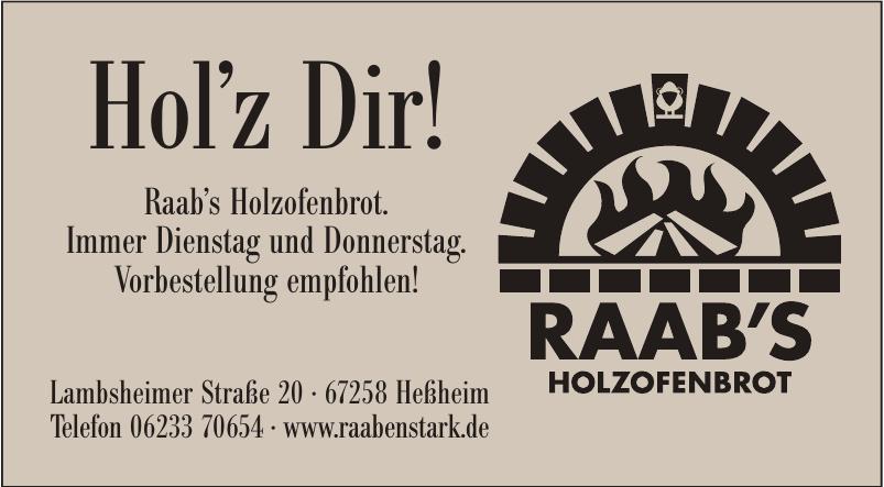 Raab's Holzofenbrot