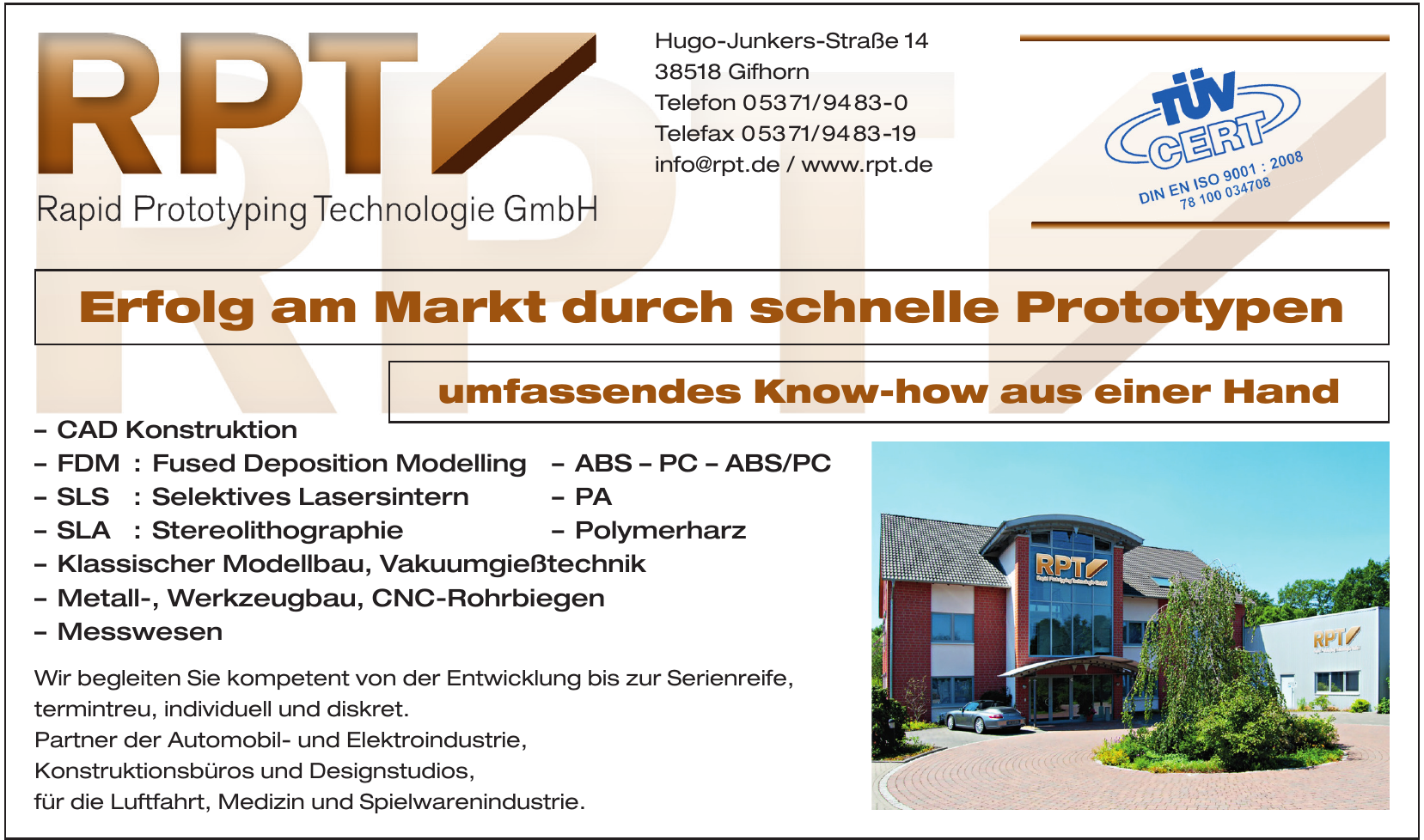 Rapid Prototyp Technologie GmbH