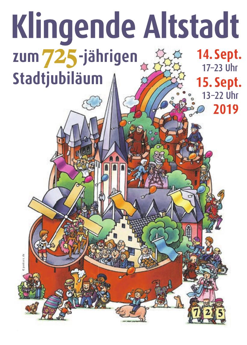 Klingende Altstadt zum 725-jährigen Stadtjubiläum