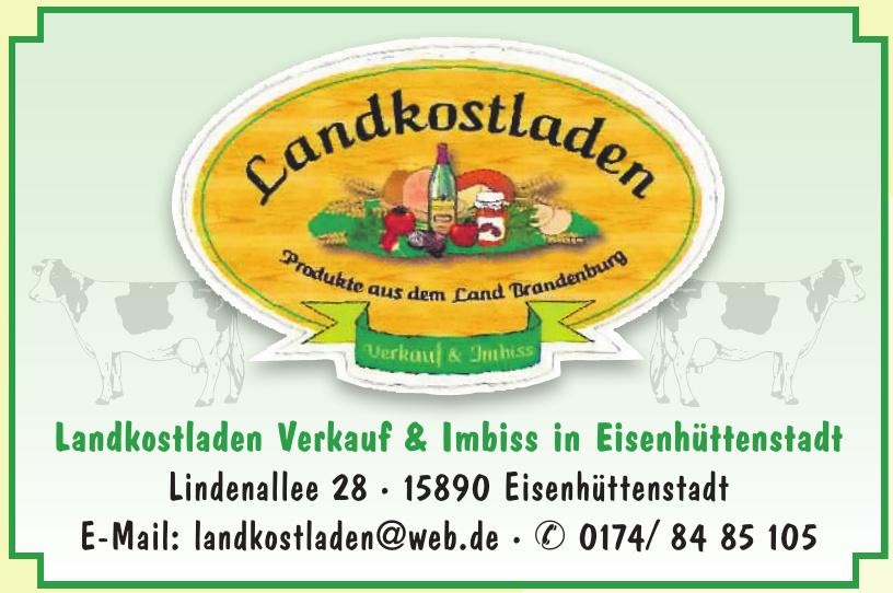 Landkostladen Verkauf & Imbiss in Eisenhüttenstadt