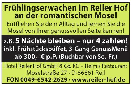 Hotel Reiler Hof GmbH & Co. KG