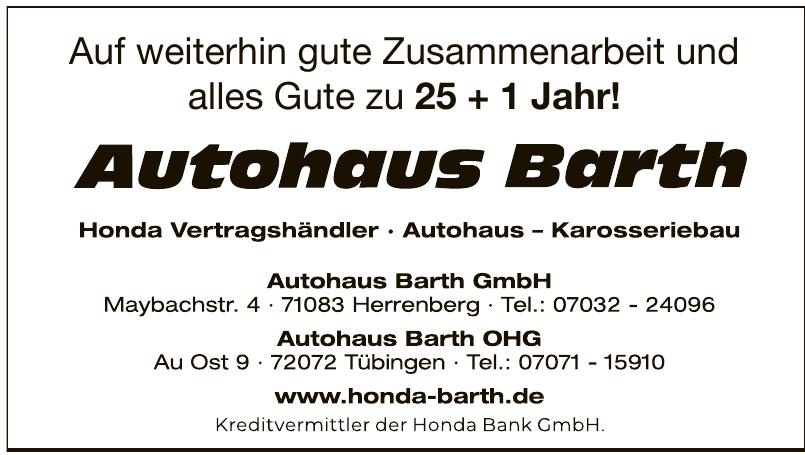 Autohaus Barth GmbH