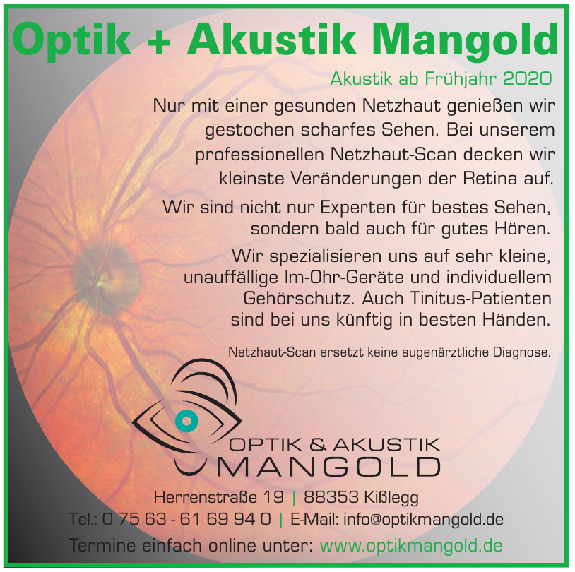 Optik Mangold