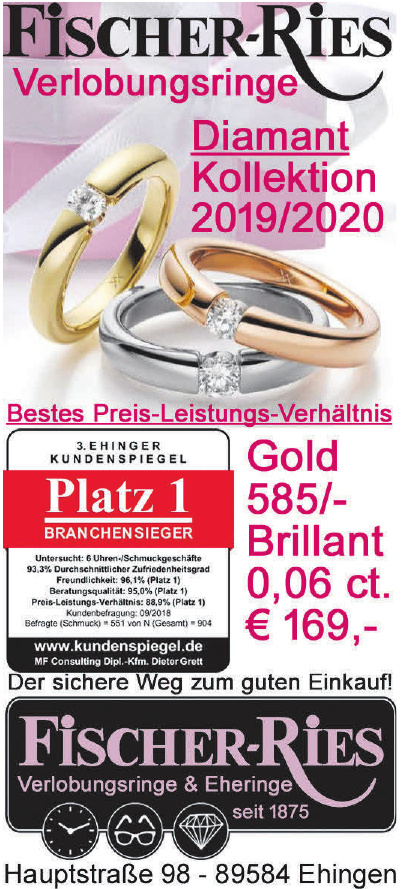 Fischer-Ries Verlobungsringe