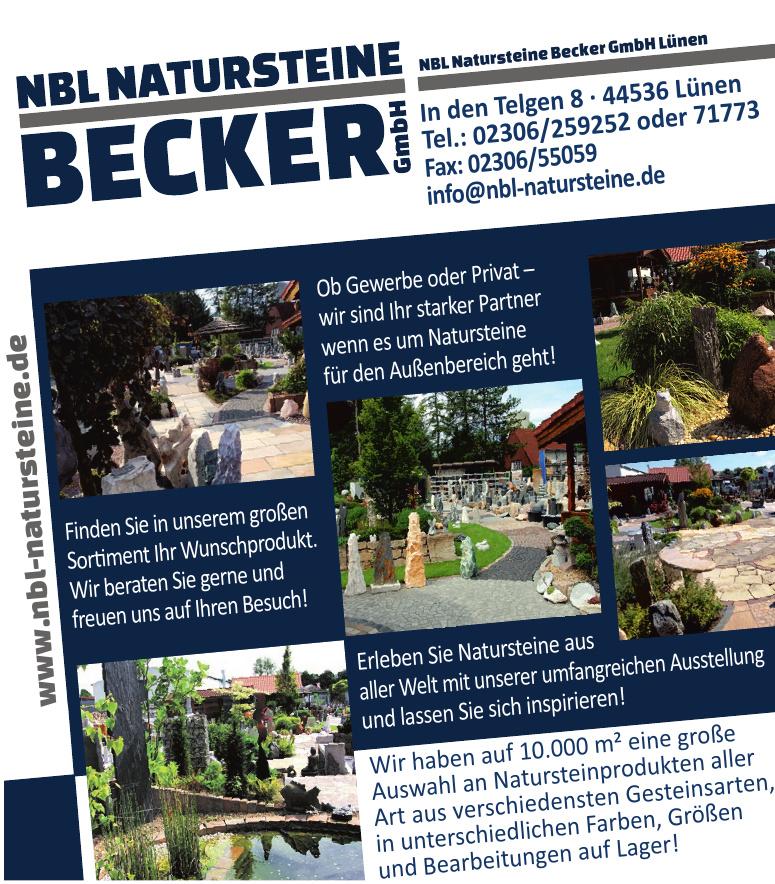 NBL Natursteine Becker GmbH Lünen