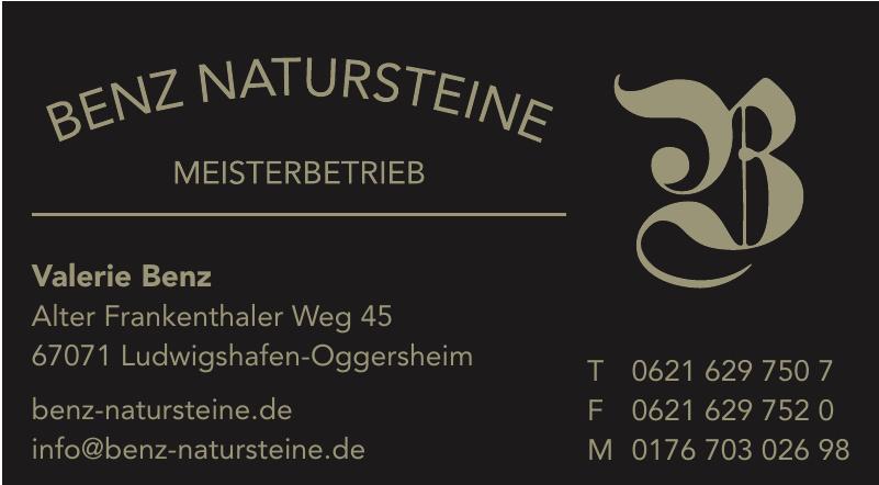Benz Natursteine Meisterbetrieb