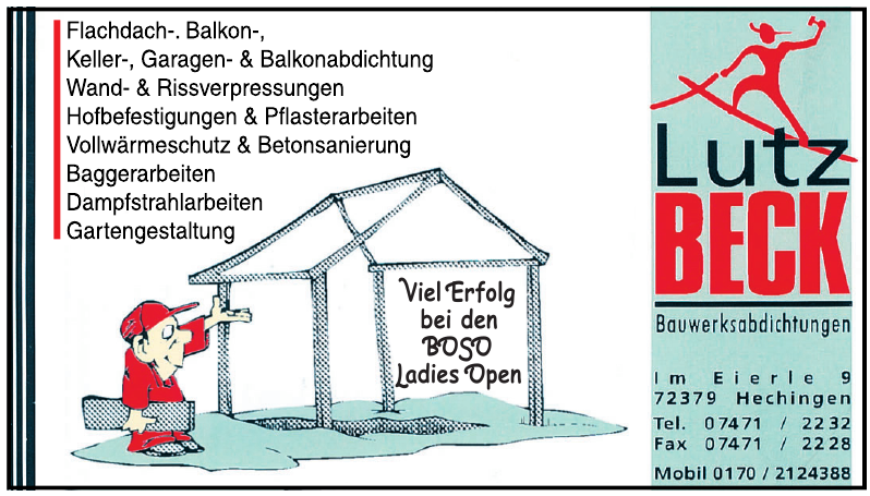 Lutz Beck Bauwerksabdichtungen