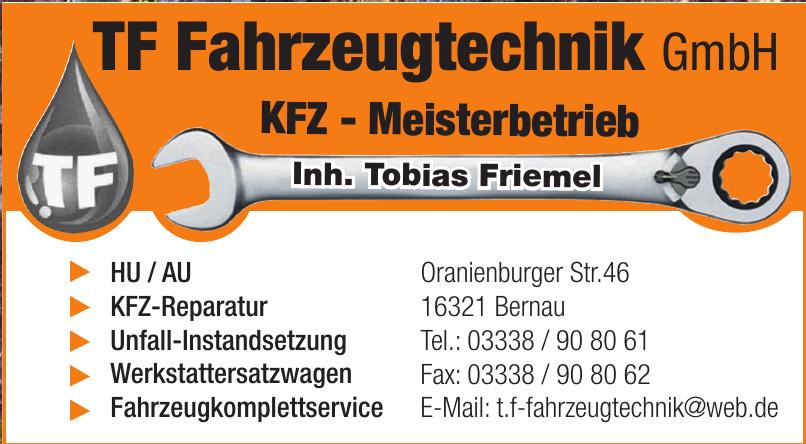 TF Fahrzeugtechnik GmbH