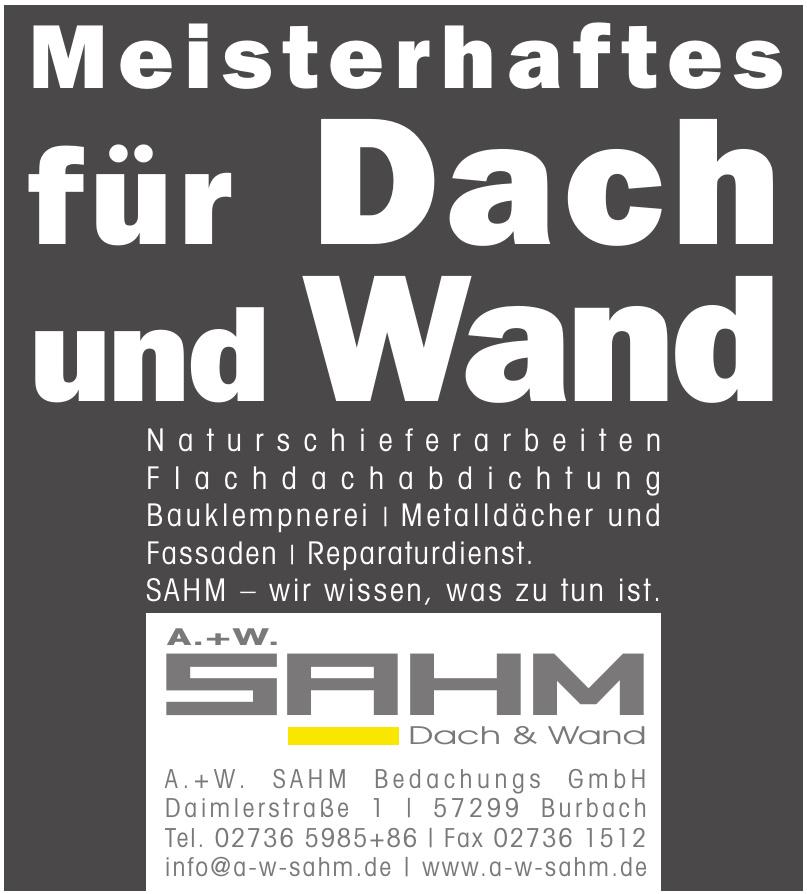 A. + W. Sahm Bedachungs GmbH