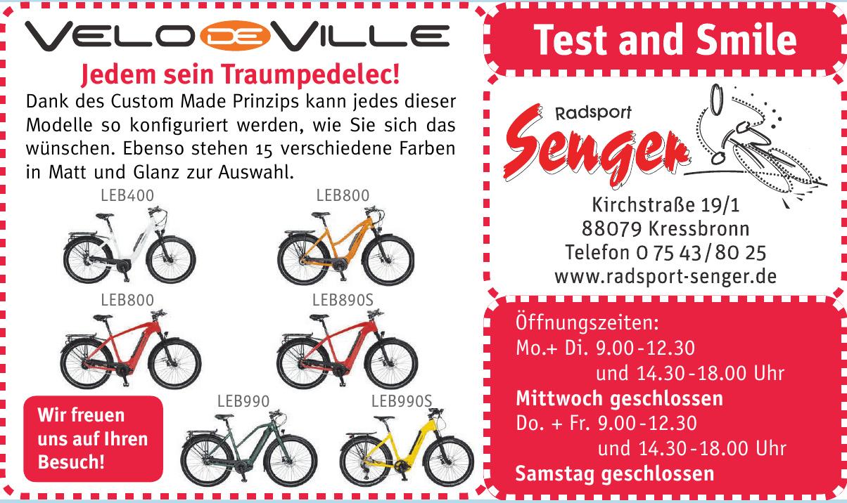 Radsport Senger