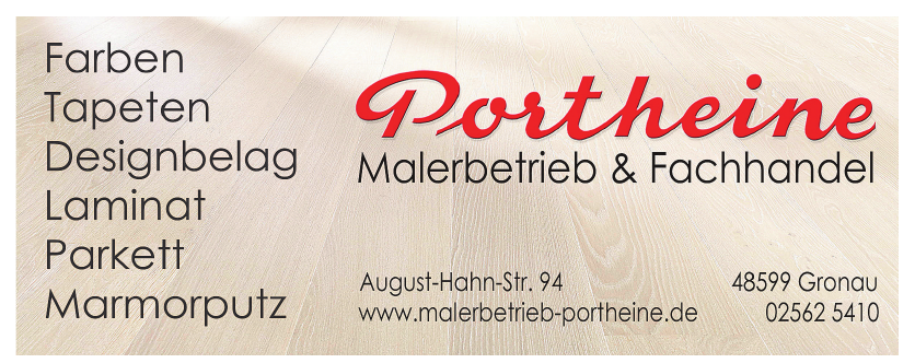 Portheine Malerbetrieb & Fachhandel