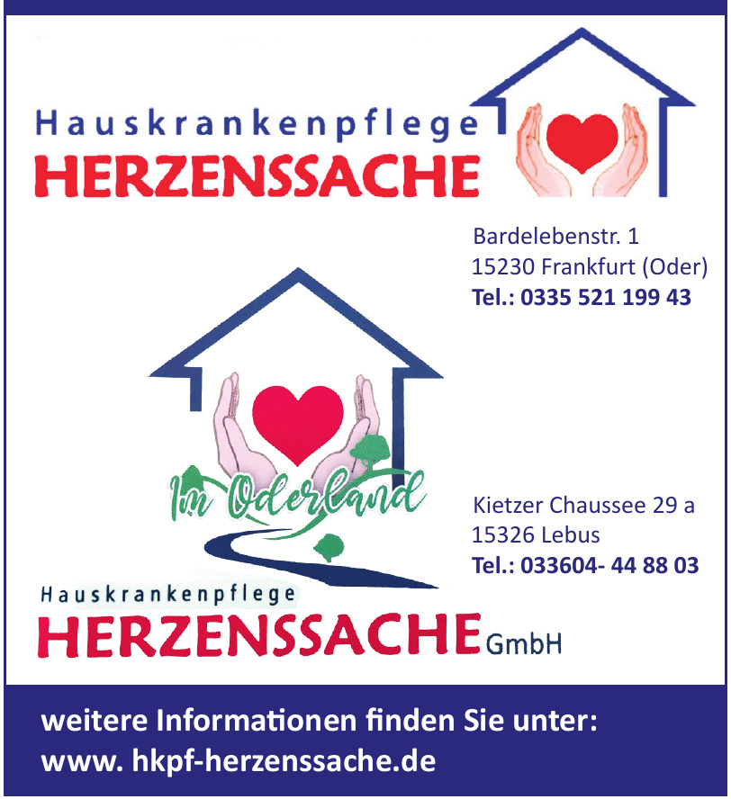 Hauskrankenpflege Herzenssache GmbH