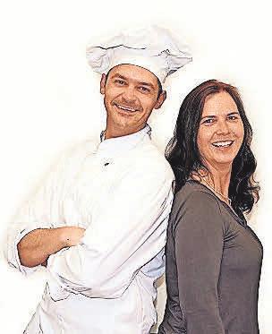 Serge Maranzana und Christina Hochheuser leiten die Pâtisserie Elysée seit 2003 gemeinsam. Fotos: privat (2)
